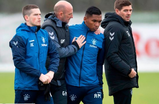 Alfredo Morelos sign defense as Rangers assistant Gary McAllister makes incitement claim